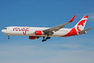 C-FMWU B767-300 Air Canada Rouge