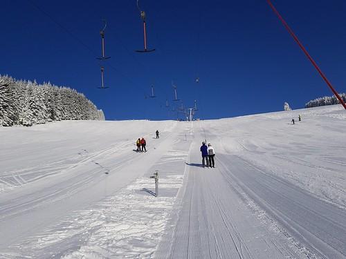 Traumhafter Skitag auf der Teichalm-Sommeralm