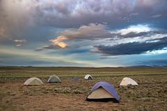 Sunrise over Fire Camp [Explored] (rowjimmy76) Tags: colorado sunrise fire camp tents grassland steppe summer 2016 beavercreek usfs forestservice medicinebow westernunitedstates rockymountains canon sigma18250mmf3563dcmacrooshsm