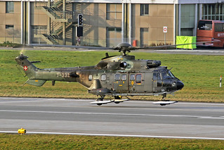 Swiss Air Force Eurocopter AS532UL Cougar T-333 ZRH 26-01-18