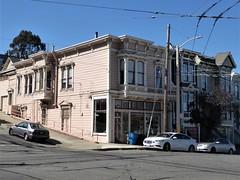 San Francisco, CA, Noe Valley, Victorian House, Women's Judo Studio (Mary Warren 13.5+ Million Views) Tags: sanfranciscoca noevalley architecture building house residence historic victorian