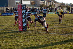 try time (BRYANJOHNSTONE) Tags: rugby union scotland kelso selkirk borderleuge scottishnationaldiv1 try score