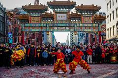 Shaolin Gong fu in DC Chinatown (YL168) Tags: yearofdog chineselunaryear chinesenewyear chinatown washingtondc sony a6500 gongfu sonyflickraward shaolin liondance flickrunitedaward