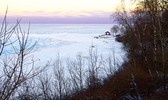 North Point Overlook in Winter...  EXPLORED- 2-12-'18 (imageClear) Tags: winter february evening cold landscape sheboygan wisconsin aperture nikon d500 nikkor1224mmdx wideangle imageclear flickr photostream