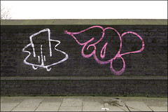 Zonk (Alex Ellison) Tags: zonk ac dds throwup throwie urban graffiti graff boobs northwestlondon