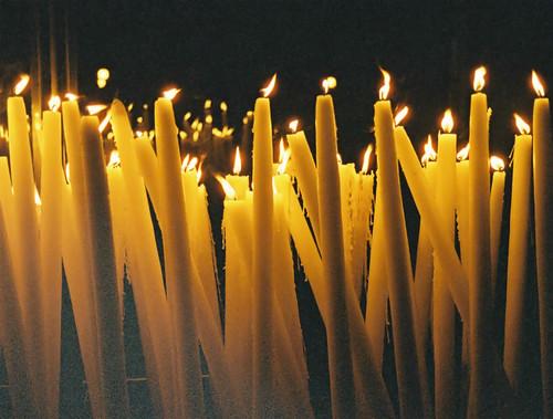 Lourdes Sanctuary Candles