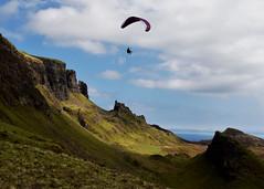 LightPlay.. (Harleynik Rides Again.) Tags: lightplay thequiraing paragliding isleofskye mountains cloudporn westernisles scotland harleynikridesagain light shadow