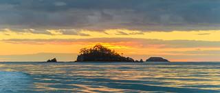 Dawn Seascape with Island