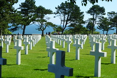 Normandië (ineowsianny63) Tags: cross americancemetery normandylanding secondworldwar invasion dday omahabeach collevillesurmer france ios camera cameraplus ipad