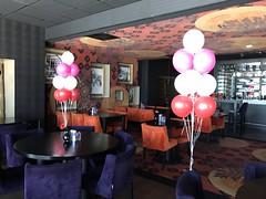 trossen van 9 heliumballonnen