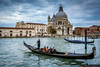 Crossing the Grand Canal (Pablo Mauriz Photography) Tags: atardecer barcos canal costa europa gondolas italia litoral mar santamaríadelasalud transportemarítimo venecia basilica cúpula venezia veneto it