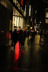 IMG_3308 (jumppoint5) Tags: light shadows colours silhouette street urban city hiroshima japan red together people contrast