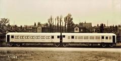 Egypt Railways - ESR type SRMO 5000 First, Second & Third Class steam train (Birmingham Railway Carriage & Wagon Works, Smethwick 1930) (HISTORICAL RAILWAY IMAGES) Tags: egypt railways esr train railcar brcw 1930 smethwick steam
