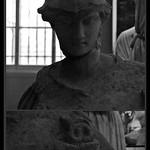 3 - Musée du Louvre - Athéna dite Athéna à la ciste, 1er ou 2ème après J.-C., Marbre - Détail thumbnail