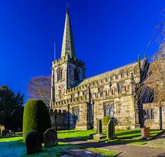 Hathersage church, Peak District, UK (SheffieldRambler) Tags: hathersage peakdistrict