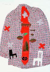 Tracing-Shirt 232 (SHIMA kuniichi) Tags: shimakuniichi trace tracing watercolor shirt shima mtasama