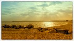 Fehmarn Südstrand (Heinze Detlef) Tags: fehmarnsüdstrand wasser sunset sonne wellen himmel strand sand meer ostsee