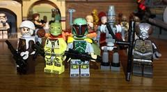 Original Trilogy Bounty Hunters (Raleigh2900) Tags: hunters bounty wars star fett boba lom 4 4lom ig88 bossk dengar starwars lego