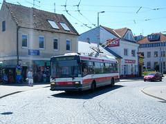 Brno trolleybus No. 3006 (johnzebedee) Tags: trolleybus transport publictransport vehicle brno czechrepublic skoda johnzebedee skoda21tr