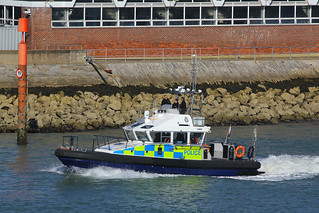 Police Boat Lewis, Portsmouth Harbour, August 6th 2016
