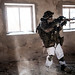 Dutch eFP troops exercise urban assault (during Exercise Scorpion Strike)