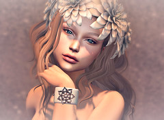 Better days (Chelsea Chaplynski ( Amity77 inworld)) Tags: chelsea dahlia cuffs kahlida fameshed event secondlife avatar doe hair