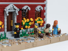 The Gilded Cup (Jonas Wide ('Gideon')) Tags: lego brethrenofthebrickseas eurobricks ageofsail tavern