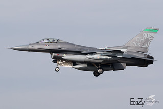 90-0706 United States Air Force General Dynamics F-16CM Fighting Falcon