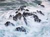 Be Brave! (MANUELup) Tags: cantabria covachos cliff coastline seascape surf wave rocky headland rockstrata extremeterrain water rocks sea seashore waterscape longexposure brave hard strong colourful green blue white black square coast coastal spain