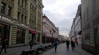Arbat Street,Moscow