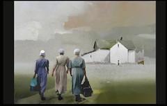 Amish country (skizo39) Tags: girls amish collage layers art digitalprocessing digitalart digitalpainting photomanipulation colors colorful graphical design creation artistic
