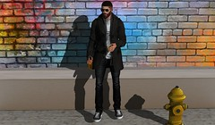 Casual Sunday (HoodCouture) Tags: tmd bad legal insanity hoodcouture deadwool streetstyle secondlife street