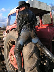 Sexy thigh boots in mud, messy, wet!!! (ThighBootsinMud) Tags: