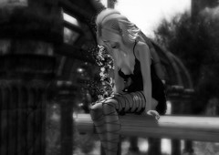 Right here waiting (Star Majere) Tags: blueberry ra catwa catya maitreya avatar bw star music secondlife sl virtual