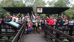 Sea Our Shores Workshop on Nature Guiding by Lepak in SG, Feb 2018 at Pasir Ris Mangrove Boardwalk with the Naked Hermit Crabs (wildsingapore) Tags: pasirris people iyor2018 mangroves marine coastal intertidal shore seashore marinelife nature wildlife underwater wildsingapore singapore