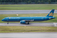 Vietnam Airlines A321-200 VN-A331 001 (A.S. Kevin N.V.M.M. Chung) Tags: aviation aeroplane aircraft airport airlines airbus singapore changi spotting plane a321 vietnam