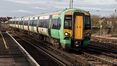 377156 (JOHN BRACE) Tags: 2002 bombardier derby built electrostar southern livery station 377156 hove