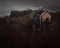 Seizure (jellyfire) Tags: derelict distagont3518 dorothea landscape landscapephotography rain sonnartfe55mmf18za sony sonya7r sonyfe70200mmf40goss winter ze zeissdistagont18mmf35ze abandoned atmospheric brown clouds dark decay enginehouse grey leeacaster moody snowdonia urbex wales wwwleeacastercom zeiss