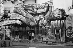 Street shot, Athens Greece (mafate69) Tags: eu ue europe greece grèce exarchia rue reportage athena athens athènes street streetshot streetlevelphoto noiretblanc nb bw blackandwhyte mafate69 portrait photojournalisme photoreportage photojournalism documentaire documentary city candid streetart art artderue grafiti peinture femme woman