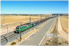 Una poco vista (440_502) Tags: 601 bitrac comsa rail transport caf fesur ltf pecovasa autos automóviles coches santander puerto muriedas valladolid la carrera