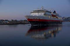 Ms Finnmarken (G E Nilsen) Tags: finnmarken hurtigruten coastal liner norway nordnorge northernnorway ship water sky sea