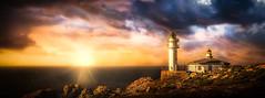 Faro Touriñán (Juan Figueirido) Tags: farotouriñán touriñán cabotouriñán costadamorte galicia atlántico atlantic costa seascape muxía turismogalicia travel viajar viajaragalicia sunset puestadesol solpor faros lighthhouses farosdacostadamorte camiñodosfaros