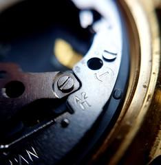 Tic tac..... (fernanmz74) Tags: macromondays reloj fasteners macro hmm clock time fastener