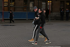 Stationsplein - Amsterdam (Netherlands) (Meteorry) Tags: europe nederland netherlands holland paysbas noordholland amsterdam amsterdampeople candid centrum center centre centraalstation stationsplein people streetscene boy girl homme femme guy male woman sneakers trainers baskets skets nike converse allstars converseplay commedesgarcons motion blur dutch january 2018 meteorry