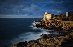 Castello del Boccale (Schiavedge) Tags: livorno boccale costa scogli toscana mare