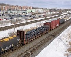 CN 622668 (Michael Berry Railfan) Tags: cn canadiannational cn369 train freighttrain kingstonsub pointeclaire montreal quebec cn622668