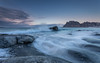 Cold breeze (Mika Laitinen) Tags: canon5dmarkiv europe lofoten norway norwegiansea uttakleiv beach cliff cloud landscape mountain nature ocean outdoors rock sea seascape shore sky sunset water wave winter