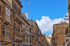 Malta Streets (Douguerreotype) Tags: church city street balcony buildings malta architecture urban