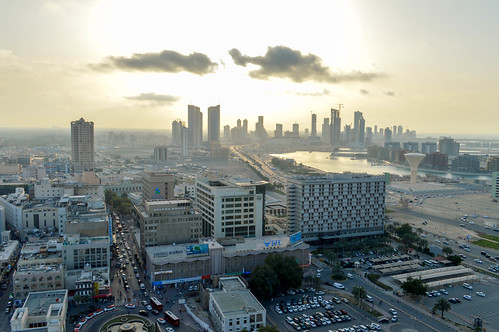 Late afternoon in Bahrain