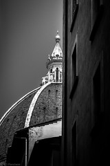 Domed, in Florence (Anthony P.26) Tags: architecture category external florence italy places santamariedelfioreilduomo travel dome cathedral travelphotography street buildings architecturephotography outdoor canon1585mm canon70d canon monochrome mono blackandwhite blackwhite whiteandblack bw itallan building sky tower brick